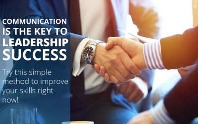 Communication is the key to leadership success